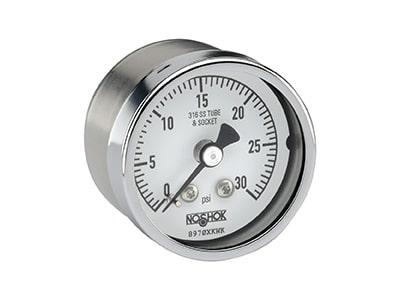 Noshok 400/500 Series All Stainless Steel Dry and Liquid Filled Pressure Gauges Pressure Gauge
